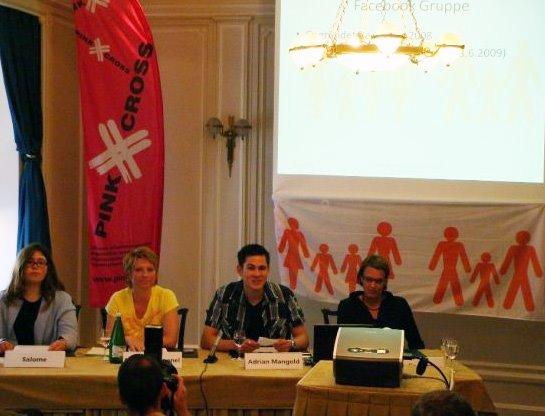Pressekonferenz zur Lancierung der Petition im Juni 2009 in Zürich